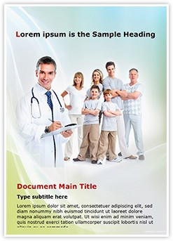 Family Healthcare Editable Word Template