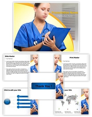 Medical record Editable PowerPoint Template