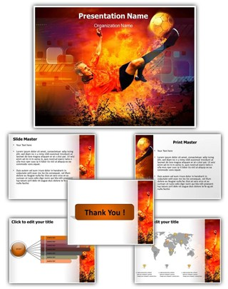 Football Concept Editable PowerPoint Template