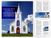 Christian Church Editable Word Template