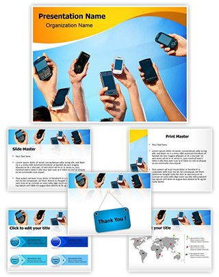 Mobile Computing Editable PowerPoint Template
