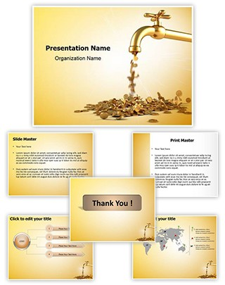 Money Tap Editable PowerPoint Template