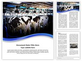 Cow Milking Factory Template