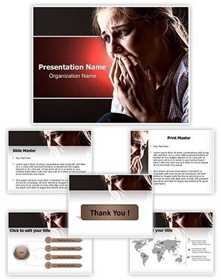 Grief Editable PowerPoint Template