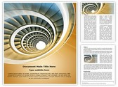 Endless Spiral staircase Template