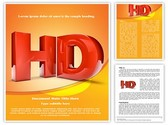 High Definition HD Template