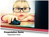 Cute Child Development PowerPoint Templates