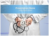 Doctor handcuffs Editable PowerPoint Template