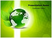 Green globe Template