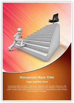 Job Promotion Editable Word Template