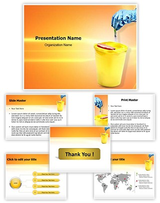 Disposal Editable PowerPoint Template