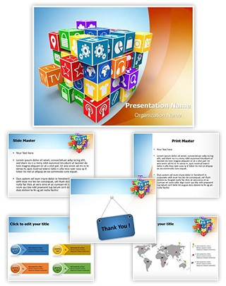 Software Company Editable PowerPoint Template