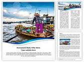 Floating Boat Market Editable Word Template