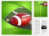 Football Rugby Editable Word Template