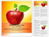 Fresh Apple Editable Word Template