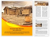 Ghost Town Editable PowerPoint Template