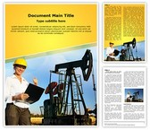 Engineer Oilfield Editable Word Template