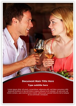 Couple Date Editable Word Template