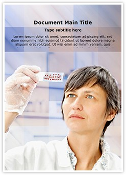 Biological tissue Editable Word Template