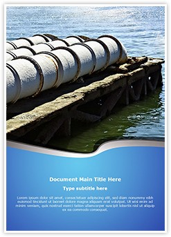 Sewage System Editable Word Template