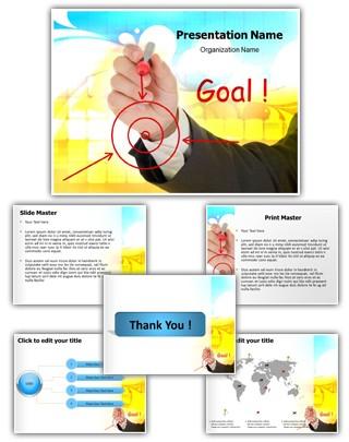 Business Goal Editable PowerPoint Template