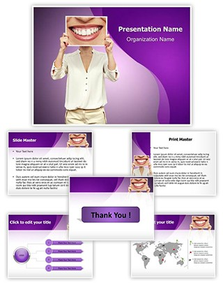 Big Smile Editable PowerPoint Template