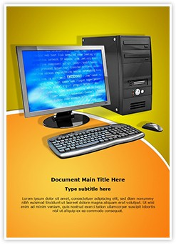 Personal Computer Editable Word Template