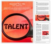 Talent Template
