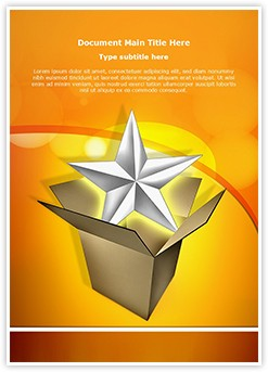 Product Launch Editable Word Template