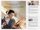 Reading Newspaper Template