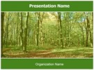 Green Forest Free PowerPoint Template