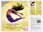 Jazz Dance Template