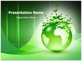 Green Earth Editable PowerPoint Template