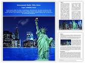 Manhattan Skyline Template