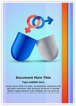 Medical Sexual Pills Editable Word Template