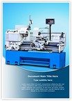 Metalworking Lathe Machine