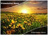 Springtime Editable PowerPoint Template