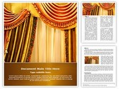 Window Curtain Template