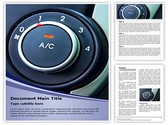 Air Conditioner Button Template