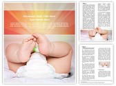 Baby Diapers Template