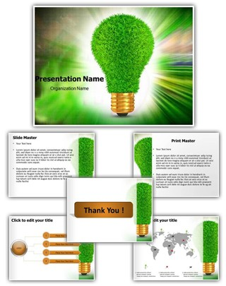 Renewable Green Energy Editable PowerPoint Template