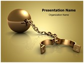 Shackles Editable PowerPoint Template