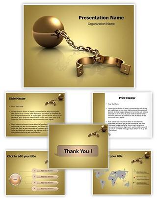 Shackles Editable PowerPoint Template