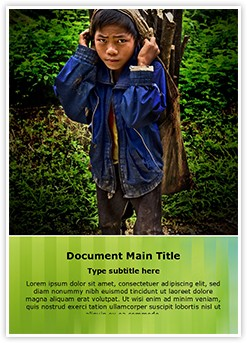 Child Labour Editable Word Template