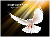 White Dove Editable PowerPoint Template