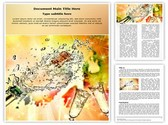 Champagne Explosion Editable Word Template