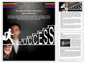 Climbing Success Editable Word Template