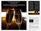 Cheers Flutes Template