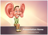 Listening Skills Editable PowerPoint Template