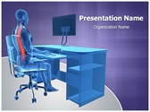 Correct Sitting Posture PowerPoint Templates
